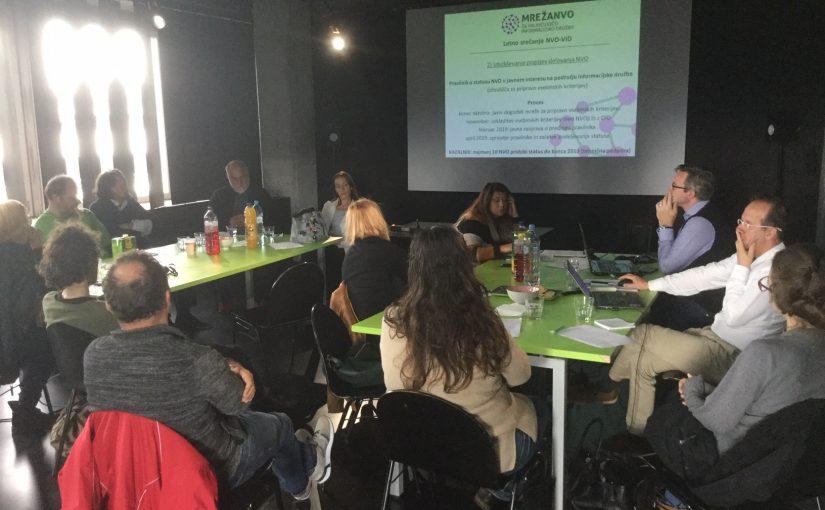 Letno srečanje mreže NVO-VID 2018