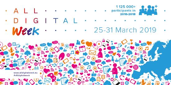 Pridružite se evropski akciji Teden digitalnih veščin!