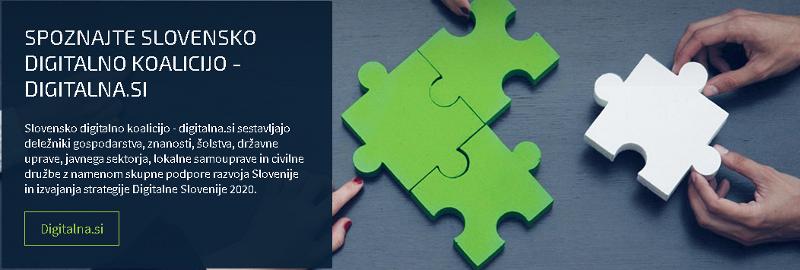 Odsotnost razvojnega sodelovanja med deležniki digitalne preobrazbe Slovenije