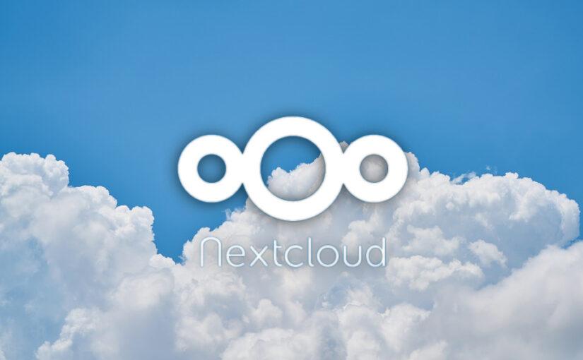 Programska oprema za NVO: NextCloud