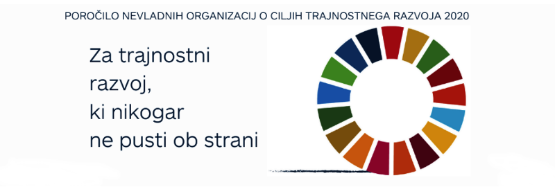 Poročilo NVO o ciljih trajnostnega razvoja 2020 – področje vključujoče digitalne družbe