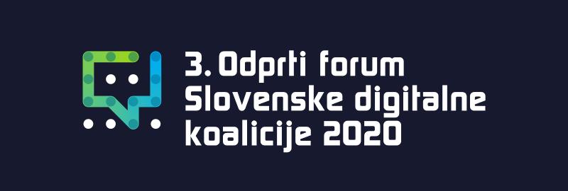 """Prispevek NVO za 3. forum Slovenske digitalne koalicije: """"Za digitalno kohezijo"""""""