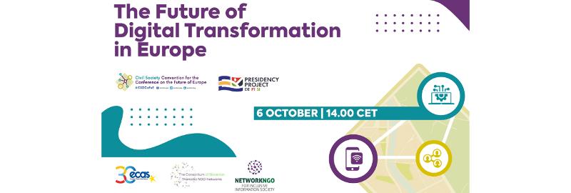 Vabilo: Prihodnost digitalne preobrazbe v Evropi